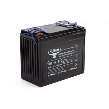 Тяговый гелевый аккумулятор RuTrike TNE 12-170 (12V135A/H C3)