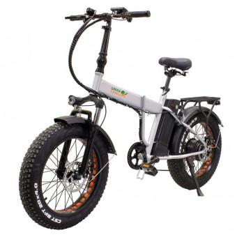 Электровелосипед GreenCamel Форвард (R20FAT 500W 48V 10Ah) складной, 6скор серый