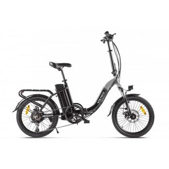 Электровелосипед Volteco FLEX Черно-серый