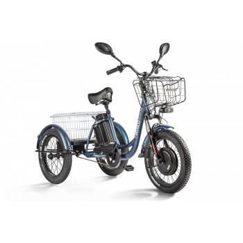 Трицикл Eltreco Porter Fat 700 Темно-синий