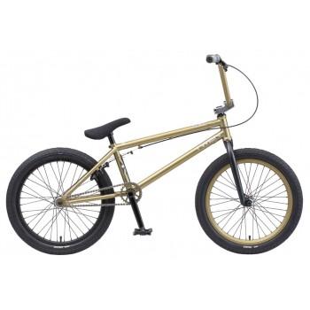 """Велосипед Tech Team BMX Twen 20"""" золотой 2020 (Cr-Mo) хром-молибден"""